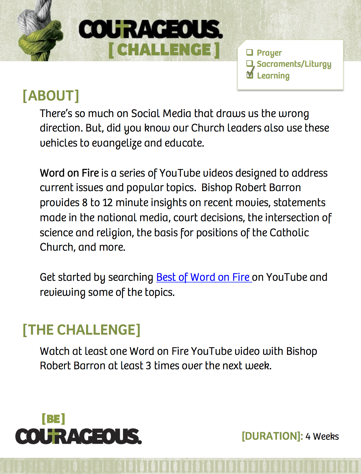 Bishop Barron YouTube