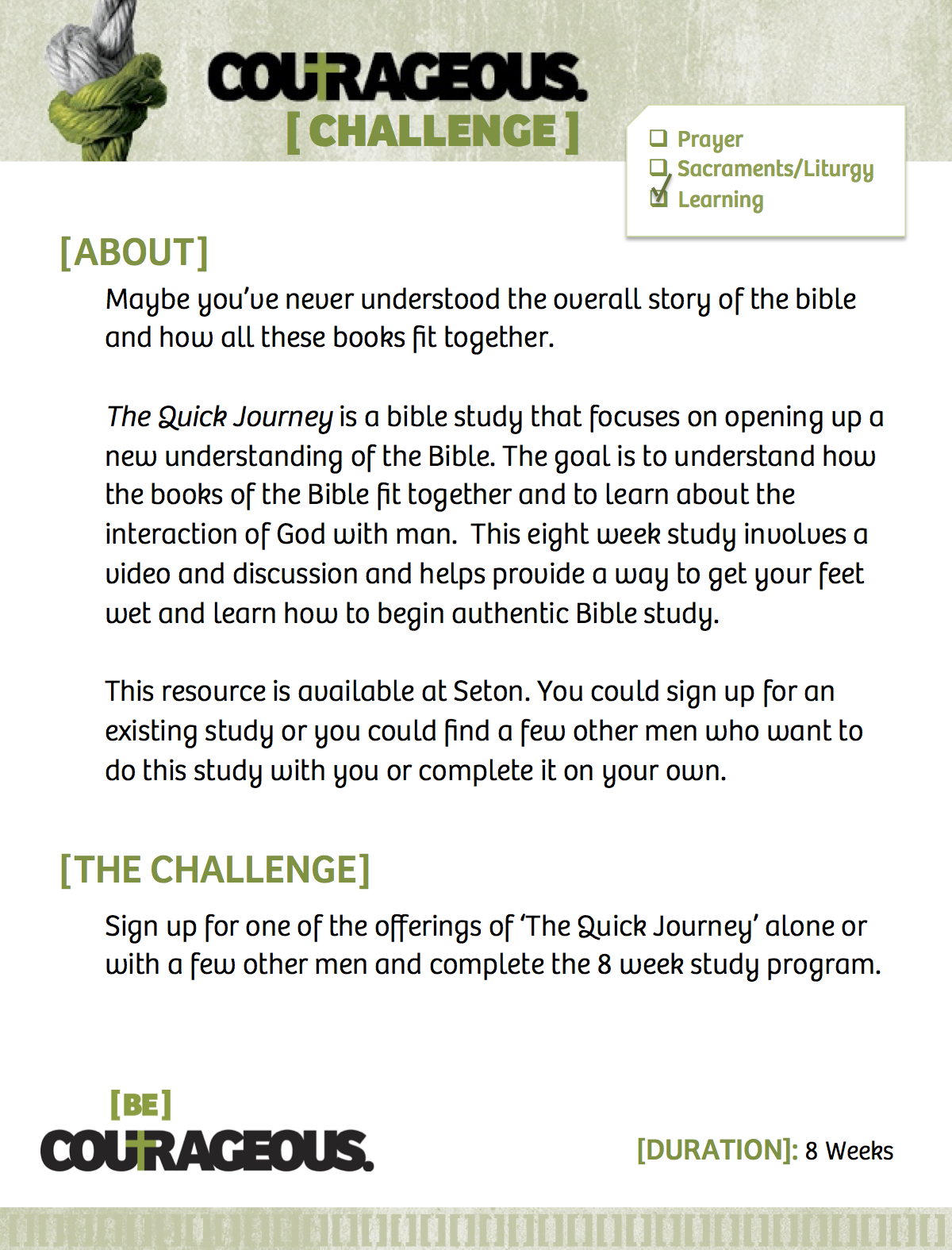 The Quick Journey Study