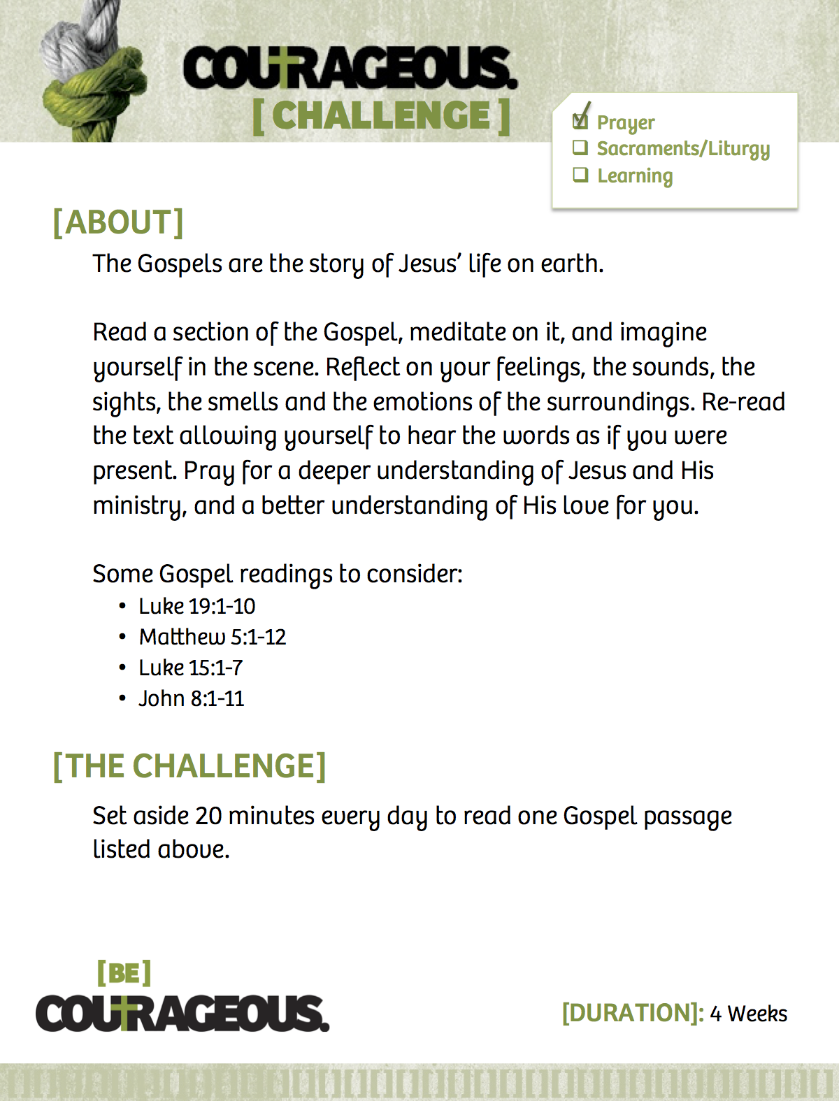 Read the Gospels